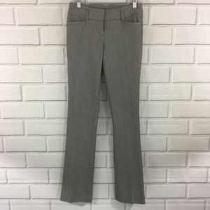 Express Straight Fit Career Gray Pants